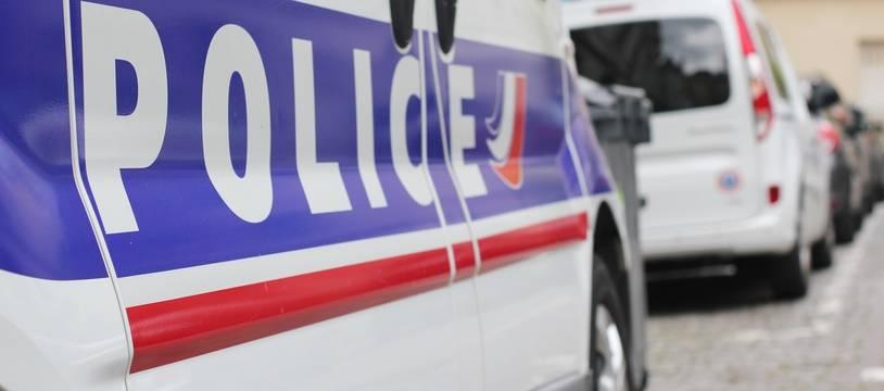 Illustration d'un véhicule de police, ici à Rennes.