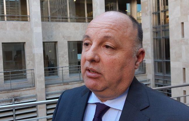 Christophe Naudin était plus détendu à l'issue de son audition au procès Air Cocaïne.