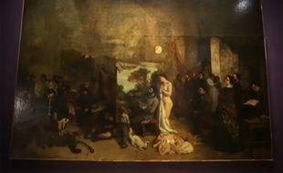 'L'Atelier du Peintre' de Gustave Courbet.