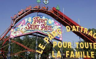 Le parc de Saint-Paul en 2005.
