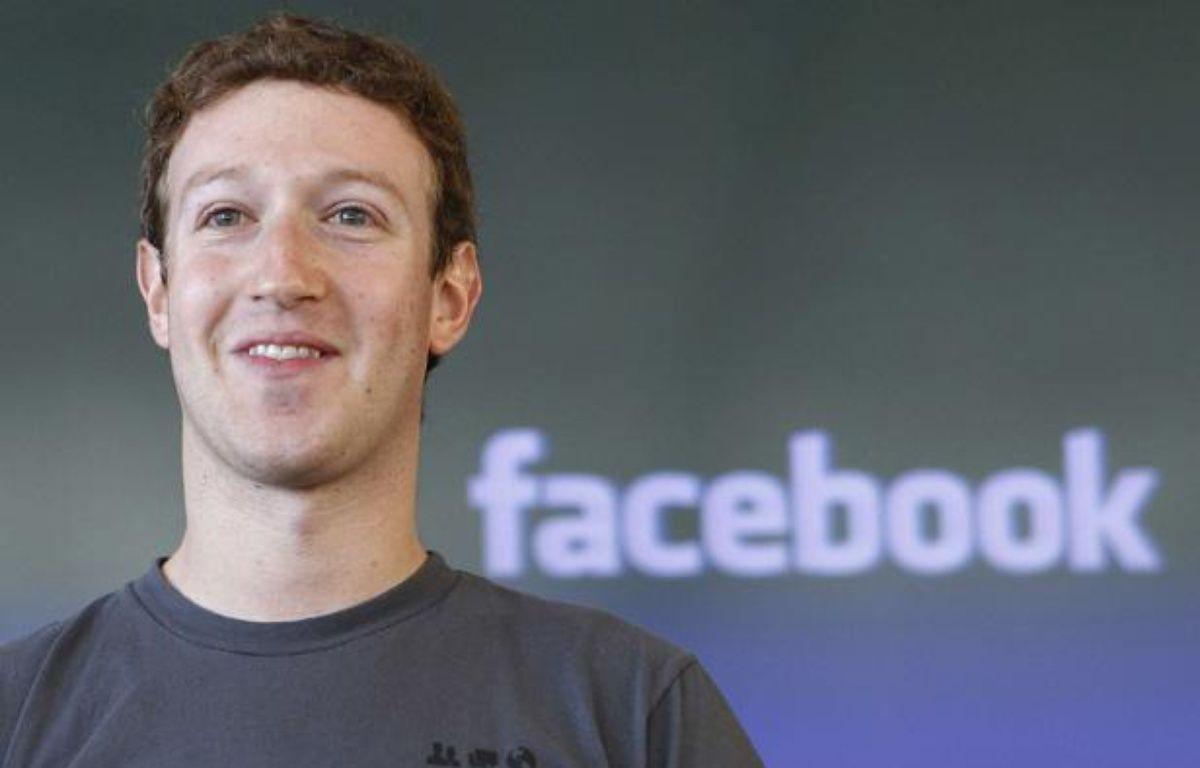 Le PDG de FacebookMark Zuckerberg à San Francisco le15 octobre2011. – Paul Sakuma/AP/SIPA