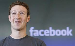 Le PDG de FacebookMark Zuckerberg à San Francisco le15 octobre2011.