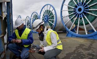 La première éolienne flottante en mer a été inaugurée cet automne sur le port de Saint-Nazaire.