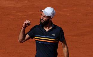 Benoît Paire à Roland Garros, le 30 mai 2018.