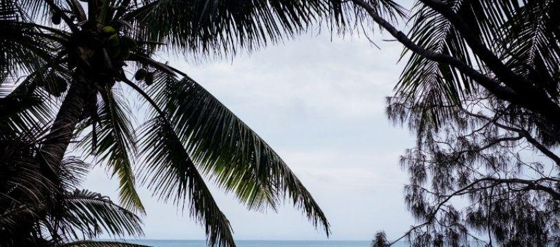 Hwadrilla, sur l'île d'Ouvea en Nouvelle-Calédonie, le 24 avril 2018.