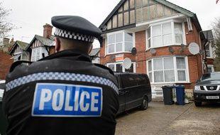 Un policier dans le nord de Londres, le 8 novembre 2014.