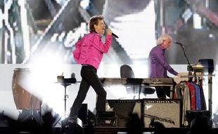 Le leader des Rolling Stones, Mick Jagger