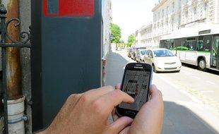 L'automobiliste choisit la durée puis sera débité sur son compte bancaire.