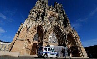 La cathédrale de Reims, où se déroule une des séquence vidéo qui a déclenché l'enquête. (illustration)