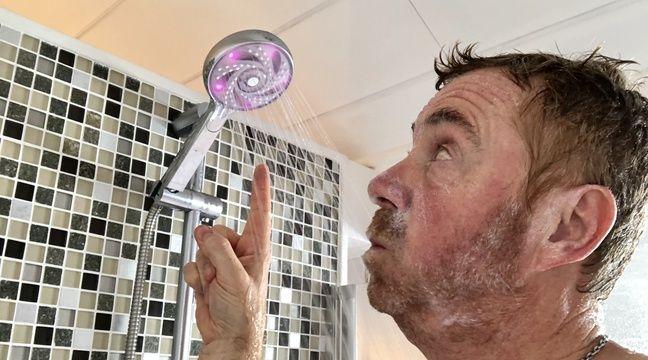 test comment faire de vraies conomies avec le pommeau de douche connect hydrao alo. Black Bedroom Furniture Sets. Home Design Ideas
