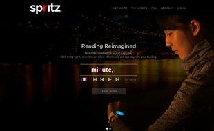 Spritz est la référence de la lecture rapide sur internet.