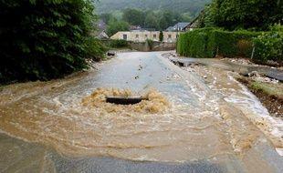 Photo d'illustration inondations en France.