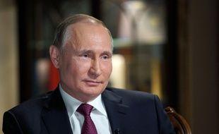 Vladimir Poutine au Kremlin à Moscou, le 28 février 2018.