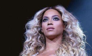 Beyoncé le 10 décembre 2013à Dallas, au Texas.