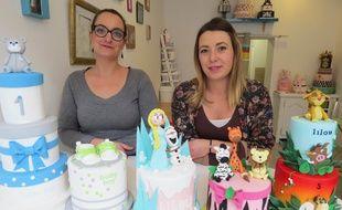 Emilie Belkadi et Marie Le Le Mignant, gérantes de Sugar Sugar.