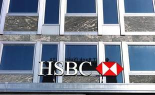 La banque HSBC à Genève en Suisse, le 14 avril 2013.