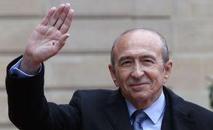 Ici à l'Elysée lors de la passation de pouvoir pour Emmanuel Macron, Gérard Collomb va abandonner la mairie de Lyon.