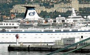 Le Princess Danae accueille 225 membres d'équipage et 720 passagers.