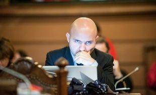 Matthieu Rouveyre, président du groupe socialiste à Bordeaux