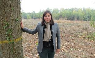 La députée du Nord, Anne-Laure Cattelot, prend fait et cause pour la forêt de Mormal, dans l'Avesnois.