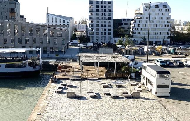 La dalle du Pertuis aux Bassins à Flot à Bordeaux, doit devenir un haut lieu culturel.