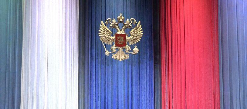 Vladimir Poutine, le 17 décembre 2017 au Kremlin.