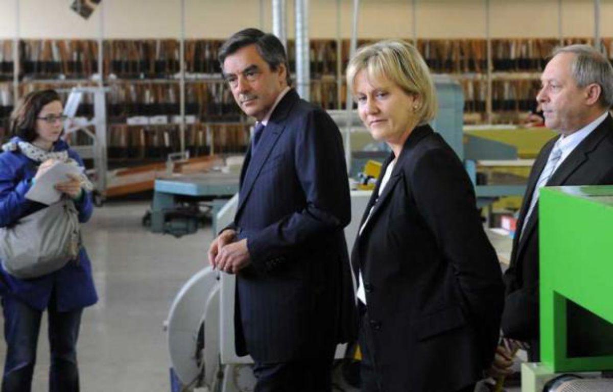 François Fillon et Nadine Morano, le 13 juin 2012 à Toul, en Meurthe-et-Moselle. – POL EMILE/SIPA