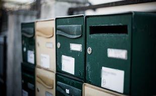 Des boîtes aux lettres (illustration)