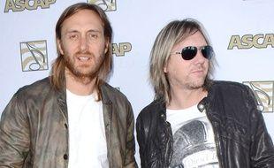 David Guetta et Fred Rister à Hollywood en 2013.