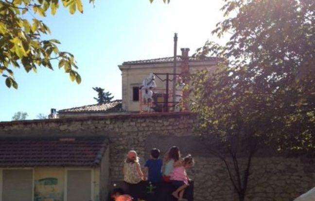 La photo prise par une enseignante, publiée par France 3.