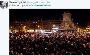 L'orchestre debout a électrisé les foules sur la place de la République et les réseaux sociaux.