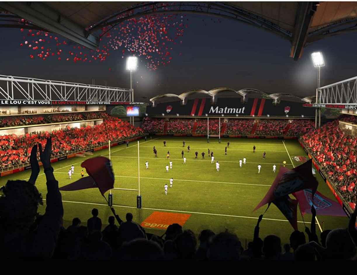 La Matmut devient aussi le nameur de Gerland, pour le club de rugby de Lyon