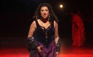 La soprano Tamar Iveri à Vienne, en 2010.