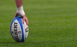 Ceci est un ballon de rugby