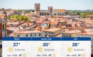 Météo Montpellier: Prévisions du dimanche 13 juin 2021