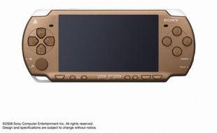 Version Bronze de la PSP, console portable de Sony