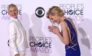 L'animatrice Ellen DeGeneres et son épouse, l'actrice Portia de Rossi