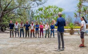 (Illustration) Épreuve de confort pour l'équipe des rouges dans la troisième émission de « Koh-Lanta : Les Armes Secrètes », tournée en Polynésie.