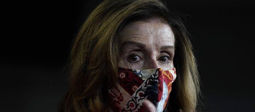 La présidente de la Chambre de représentants, la démocrate Nancy Pelosi.