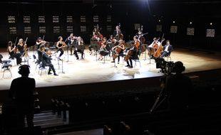 « Renaud Capuçon  et ses amis », concert sans public le jeudi 28 mai à la Philharmonie de Paris.
