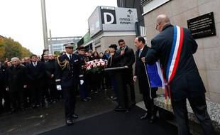 Michael Dias, le fils de l'homme tué au Stade de France le 13 novembre 2015, a prononcé un discours un an après.