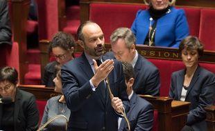 Le Premier ministre Edouard Philippe à l'Assemblée nationale, le 11 décembre 2018.