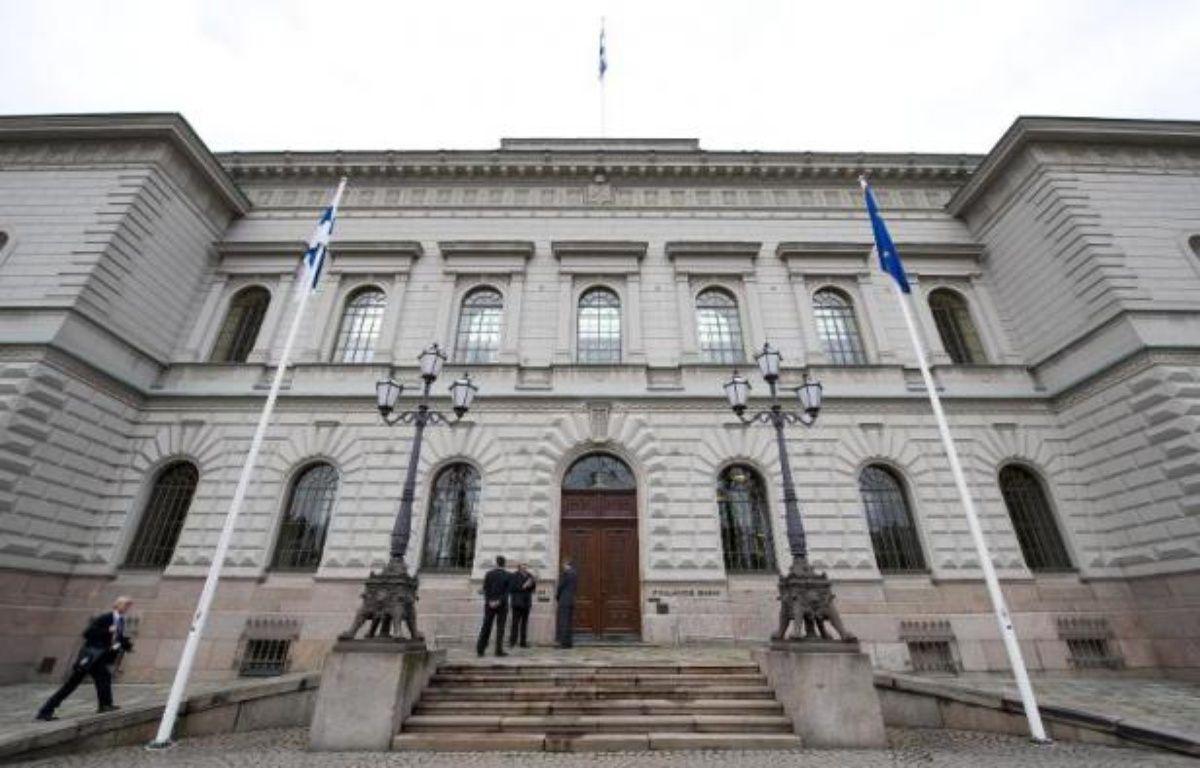 La Banque de Finlande à Helsinki le 5 mai 2011 – Jonathan Nackstrand AFP