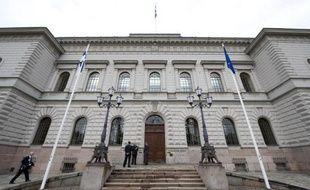 La Banque de Finlande à Helsinki le 5 mai 2011