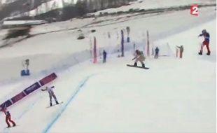 Capture d'écran du zapping télé du 18 février 2014