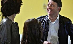 Matteo Renzi à Florence, le 30 avril 2017.