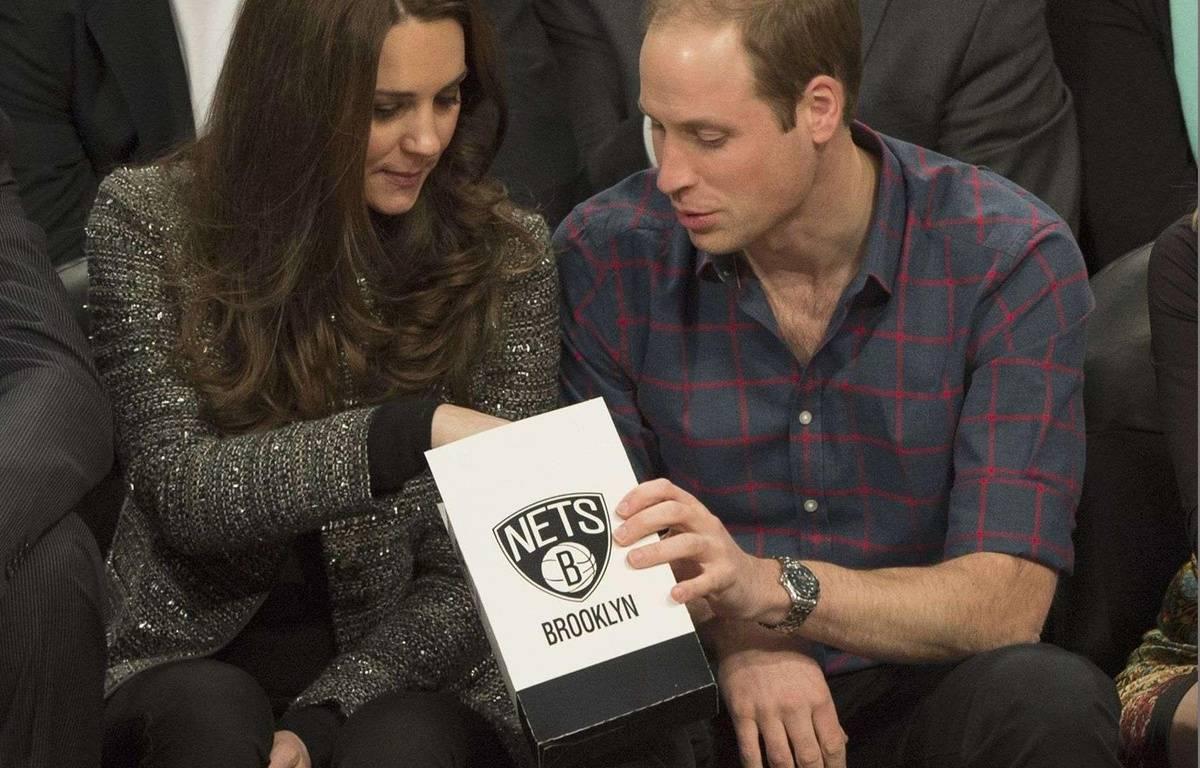 Kate et le prince William, amateurs de pop-corn, le 8 décembre 2014, à New York. – REX/REX/SIPA