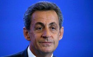 Nicolas Sarkozy le 18 mai 2016 à Paris
