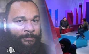Pierre Ménès sur le plateau de «Clique» sur Canal+.