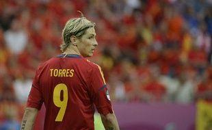 L'attaquant espagnol Fernando Torres, le juin 2012, à Gdansk.
